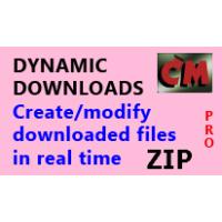 Test Download Create ZIP file
